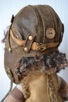 Pilot Helmet close-up. livemaster.   Очки для летчика - Ярмарка Мастеров - ручная работа, handmade