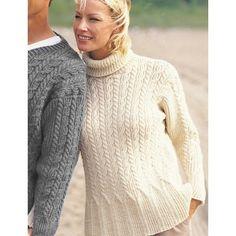 Free Experienced Women's Sweater Knit Pattern