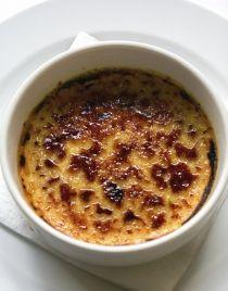 Crème brûlée aux oignons