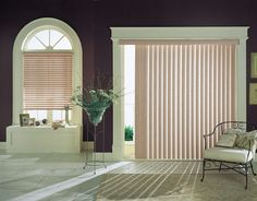 vertical faux wood blinds
