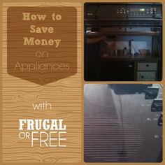 How to Save Money on Appliances (Buying Used Appliances) - http://frugalorfree.com/frugal-living/how-to-save-money-on-appliances-buying-used-appliances/