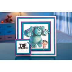 This Disney Pixar Monsters, Inc. Collection is official and exclusively designed at Create and Craft. Disney Monsters, Monsters Inc, Disney Pixar, Create And Craft, Kids Cards, Colour, Crafts, Character, Image