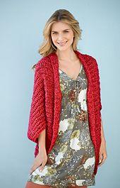 Ravelry: Simple Crochet Shrug #90689 pattern by Lion Brand Yarn