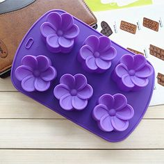 Anyana Plumeria Silicone Fondant Mold Cake Decorating Pastry Gum Pastry Tool Kitchen Tool Sugar Paste Baking Mould Cookie Pastry >>> Read more  at the image link.