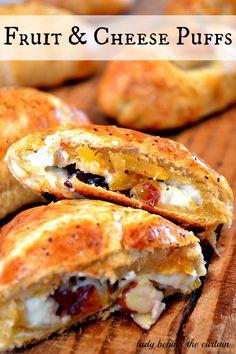 Fruit & Cheese Puffs (Crescent Rolls)
