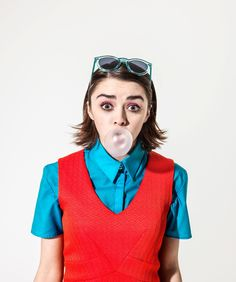 Maisie Williams / Photographed by Perou / For The Guardian December 2014