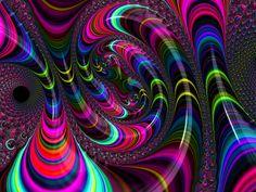 Colorful Fractal Art by Mathias Hauser