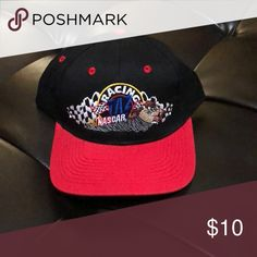 13b76ffc Shop Men's Nascar Black Red size OS Hats at a discounted price at Poshmark.  Never worn, but been in storage for years.