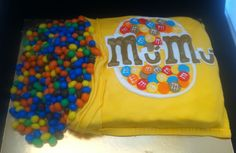 For a M&M's addicted. Mú Mú is his nickname.
