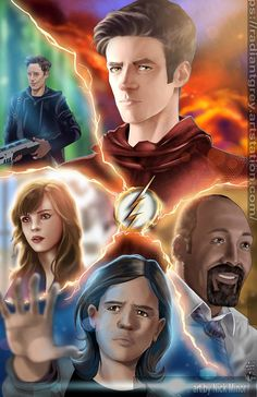Star Labs Dream-team by RadiantGrey on Etsy Flash Comics, Marvel Comics, Ms Marvel, Captain Marvel, The Flash Season 3, Flash Characters, Flash Drawing, Flash Funny, Flash Wallpaper