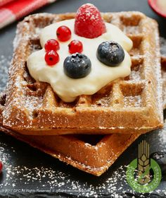Every wondered how to make crispy & tasty gluten-free waffles at home from scratch? Come and check out my step-by-step recipe with lots of pictures. Gluten Free Waffles, Celiac, Gluten Free Recipes, Dairy Free, Paleo, Tasty, Homemade, Vegan, Baking