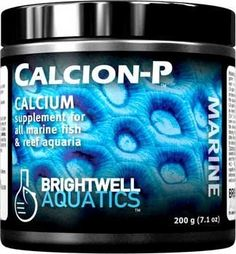 Brightwell Aquatics CalcionP Dry Calcium Supplement for Reef Aquaria 200g  71oz *** For more information, visit image link.Note:It is affiliate link to Amazon.