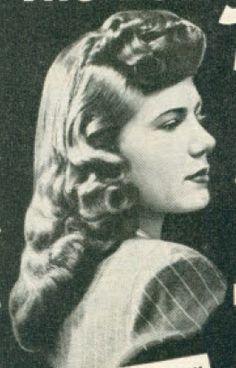 1940s hair * inspiration*