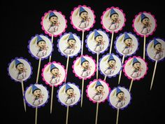 24 Agnes Despicable Me Cupcake Toppers Birthday PArty by ryv999, $4.99
