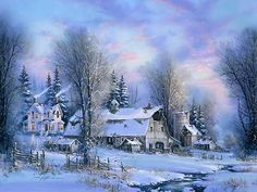 """""""Winter Farmland"""" by Kirk Randle"""
