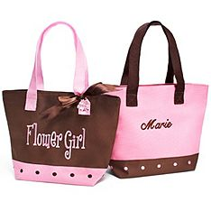 Flower Girl Twill Tote gift 2