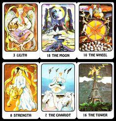 Original Karma Tarot 1983 englischsprachig! Sammlungsauflösung unbespielt