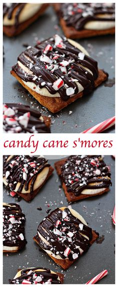 Put a holiday touch on your summer favorite treat. Candy Cane S'mores – a fun treat for kids and not only to make while waiting for Santa Claus.