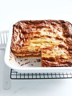 zucchini, pumpkin and ricotta lasagne from donna hay