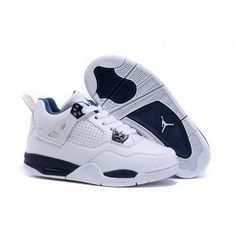 Cheap Off Kids Air Jordan 4 White/Midnight Navy - Best Price. Air Jordan Shoes for Kids - Off Kids Air Jordan 4 White/Midnight Navy - Best Price. Kobe 11 is Kobe \'s last pair of signature shoes before retiring, which also gave the shoes a si Air Jordan Iv, Jordan Shoes For Kids, Air Jordan Shoes, Bb Shoes, Kicks Shoes, New Jordans Shoes, Kids Jordans, Nike Shoes For Sale, Nike Shoes Cheap