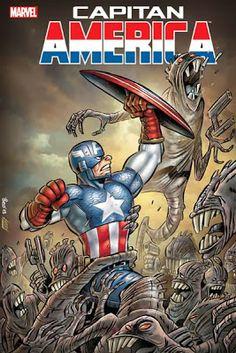 Captain America by Leo Ortolani.