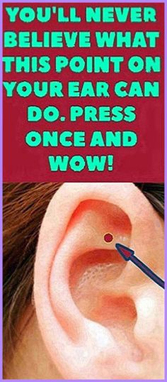 This Is What Happens When You Massage This Point On Your Ear Natural Life, Natural Living, Natural Healing, Get Healthy, Healthy Tips, Healthy Food, Healthy Recipes, Home Remedies, Natural Remedies