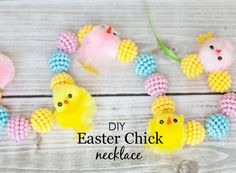 DIY Easter Chick Nec