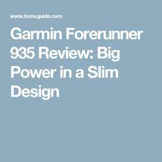 Garmin Forerunner 935 Review: Big Power in a Slim Design