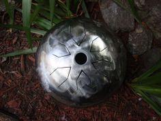 Tankdrum  C#13 double-side- tank drum handpan steel hank tongue drums 432hz