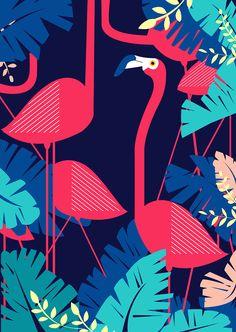 查看《火烈鸟装饰画》原图,原图尺寸:2491x3508