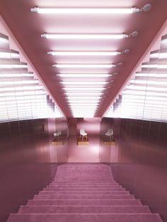 Interior Design, Pink, purple, Light