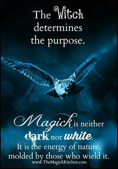 Witch determines the purpose