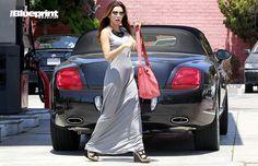Spotted: Eva Longoria Rolls in Her Bentley Continental GTC