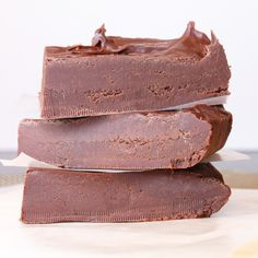 World's Smoothest Chocolate Fudge. Perfect for gifting this holiday season. Or for treating yourself!