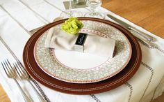 Tischlein deck dich: Gewinnt 3x2 Serviettenringe mit persönlichem Gruß. Hier Euren Deko-Tick posten.