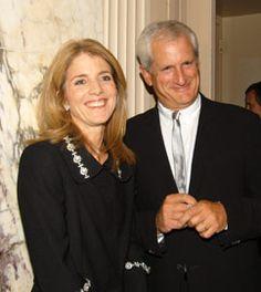 Caroline with husband, Ed Schlossberg.  Last one standing.