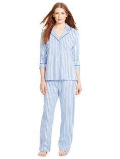 Lauren Cotton Jersey Pajama Set - Lauren Sleep Shirts, Tees & Pants - Ralph Lauren Germany