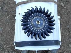 How to convert a washing machine into a water powered generator - enough power to live off the grid