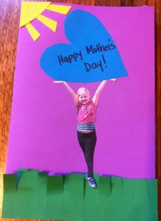 Mother's Day Card Idea! Easy :)