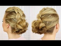 Dutch Braids and Messy Buns | Missy Sue - YouTube