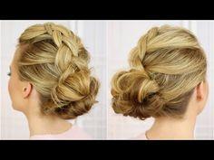 Dutch Braids and Messy Buns | Missy Sue - YouTube