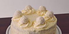 Tort Raffaello - reteta pas cu pas | Retete Papa Bun Oreo, Cheesecake, Sweets, Desserts, Raffaello, Tailgate Desserts, Deserts, Gummi Candy, Cheesecakes