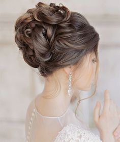 Elegant Glamorous Wedding Updo Hairstyles 2015 - 2016