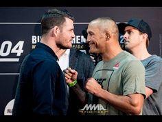 MMA UFC 204: Michael Bisping vs. Dan Henderson 2 Staredown