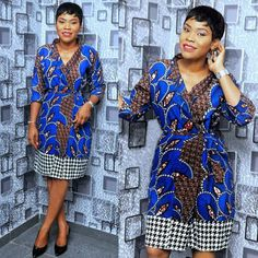 When it comes to Ankara style looks, we've got you covered…. In this style feature, you will see how Ankara is used as Aso-Ebi. Ankara can be rocked to… African Inspired Fashion, African Print Fashion, Africa Fashion, African Fashion Dresses, Ankara Fashion, African Prints, African Attire, African Wear, African Women