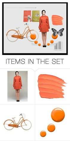 """You, finding yourself"" by pheinart ❤ liked on Polyvore featuring art and orangecrush"