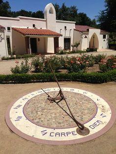 Sundial at Orcutt Ranch, San Fernando Valley, CA