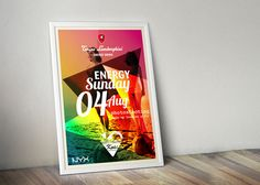 Tonino Lamborghini Greece Summer Party Poster