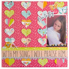 Illustrated Faith | Seeds of Faith Collection | Layout by Amy Bruce
