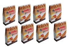 Ferrero Nutella Bready  a crisp wafer of bread in the form of mini  baguette stuffed with a creamy Nutella  8 pieces  539 oz 153g  Pack of 8  Italian Import  >>> Be sure to check out this awesome product.